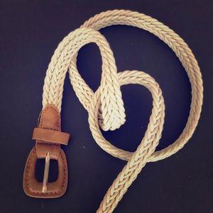 Light tan belt
